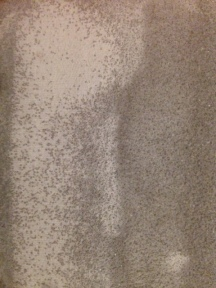 Coarse sandpaper with cloth back